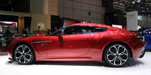 Vidéo Aston Martin V12 Zagato - Salon de Genève 2012