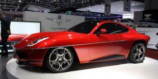 Vidéo Alfa Romeo Disco Volante - Salon de Genève 2012