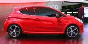 Salon : Peugeot 208 GTI Concept