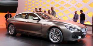 Salon : BMW Série 6 Gran Coupé au Salon de Genève 2012