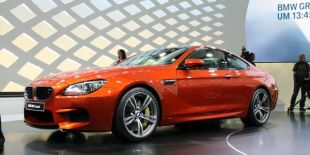 Salon : BMW M6 coupé