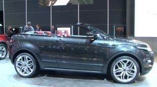 Salon : Range Rover Evoque Cabriolet Concept