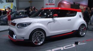 Salon : Kia Track'ster Concept