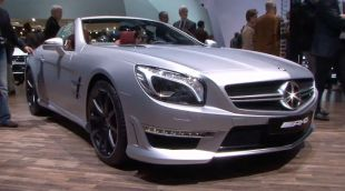 Salon : Mercedes SL63 AMG