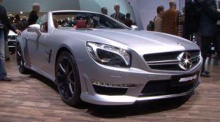 Salon : Mercedes SL63 AMG