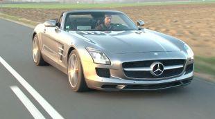 Essai : Mercedes SLS AMG Roadster