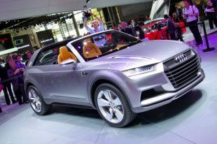 Salon : Audi Crosslane Coupé Concept