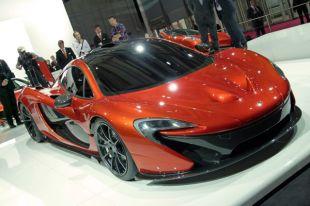 Salon : McLaren P1 au Mondial de l'Automobile 2012