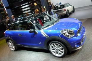 Salon : Mini Paceman au Mondial de l'Automobile 2012