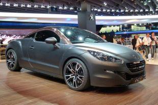 Salon : Peugeot RCZ-R