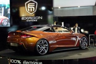 Salon : Exagon Furtive e-GT au Mondial de l'Automobile 2012
