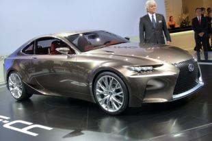 Salon : Lexus LF-CC