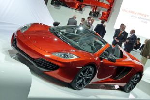 Salon : McLaren MP4-12C Spider