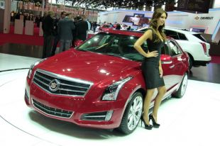 Salon : Cadillac ATS