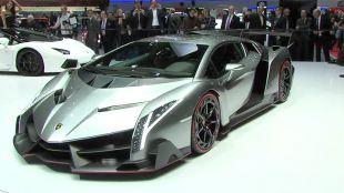 Salon : Lamborghini Veneno