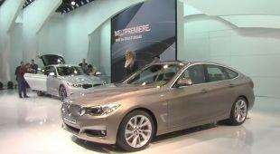 Vidéo BMW Série 3 Gran Turismo au Salon de Genève 2013 - Salon de Genève 2013