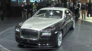 Vidéo Rolls-Royce Wraith - Salon de Genève 2013