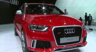 Vidéo Audi RS Q3 au Salon de Genève 2013 - Salon de Genève 2013
