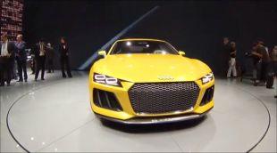 Vidéo Audi Sport Quattro Concept - Salon de Francfort 2013