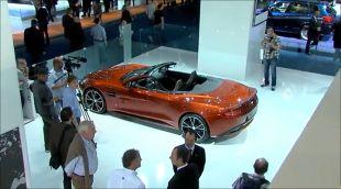 Vidéo Aston Martin Vanquish Volante au Salon de Francfort 2013 - Salon de Francfort 2013