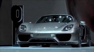 Salon : Porsche 918 Spyder au Salon de Francfort 2013