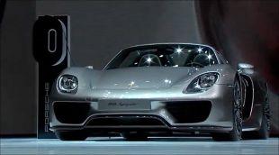 Salon : Porsche 918 Spyder au Salon de Francfort 2013