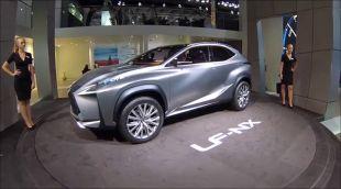Salon : Lexus LF-NX