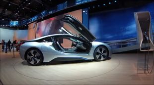 BMW i8 au Salon de Francfort 2013