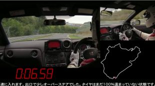 Le Nürburgring en Nissan GT-R Nismo