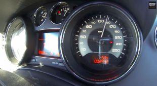 Accélération en Peugeot RCZ R par Motorsport