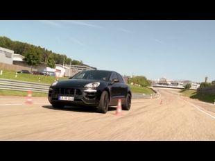 Le nouveau Porsche Macan en test à Weissach