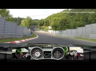 La SLS AMG Black Series sur le Ring