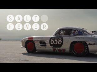 Vidéo Des doughnuts en Mercedes SLS AMG Black Series - Essai
