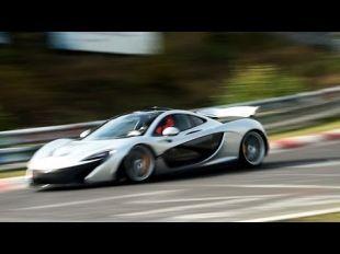 McLaren P1 sur le Nürburgring