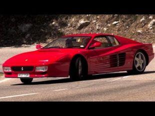 Chris Harris va chercher son pain en Ferrari 512 TR