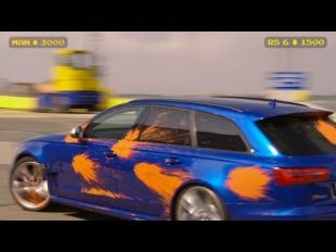 Audi RS 6 Avant : Paint Battle