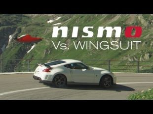 Nissan 370Z Nismo Versus Wingsuit