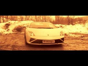 Les copains de l'excellent braquages.com secouent une Lamborghini Gallardo