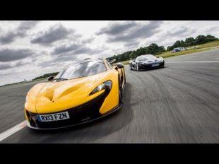 Jay Leno et la McLaren P1