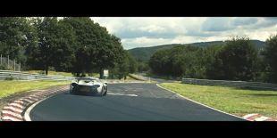 McLaren P1 au Nürburgring