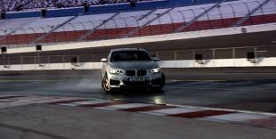 Une BMW M235i sans pilote