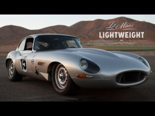 Reproduction de Jaguar Type E Lightweight
