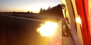 Ford GT cracheuse de feu