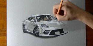 Dessin Porsche Panamera