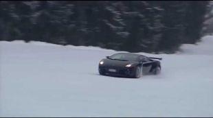 Vidéo Flammes McLaren P1 - Essai
