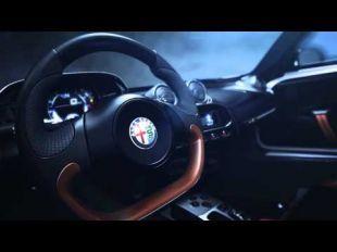 Présentation en avant-première d' Alfa Romeo 4C Spider