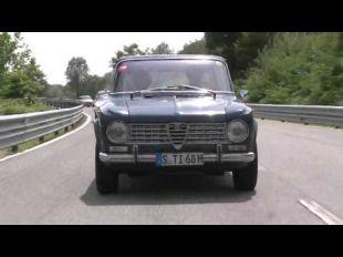 Alfa Romeo Giulia à Balocco