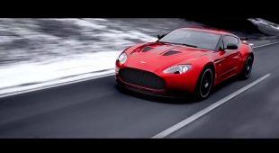 Aston Martin V12 Zagato en action