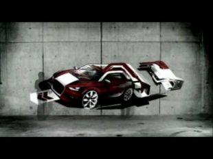 Audi A1 Graffiti