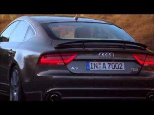Au volant de l'Audi A7 Sportback